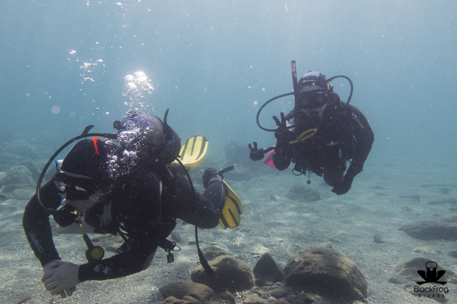 diving visibility, costa del sol, spain