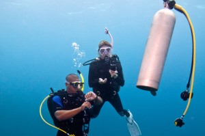 adventure scuba diving course Torrox