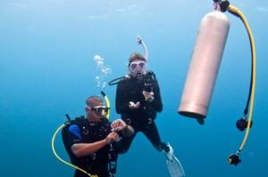 adventure scuba diving course Torrox