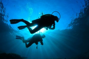 open water diver Nerja