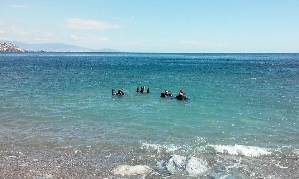 Scuba diving Almunecar