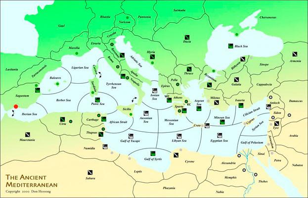 The ancient mediterranean sea