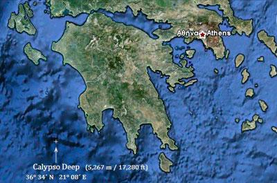Calypso Deep Ionian Seas
