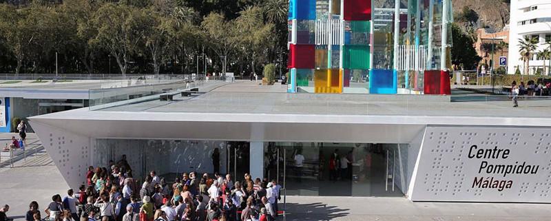 Centre pompidou Malaga Spain no just scuba diving