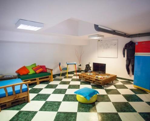 diving centre classroom