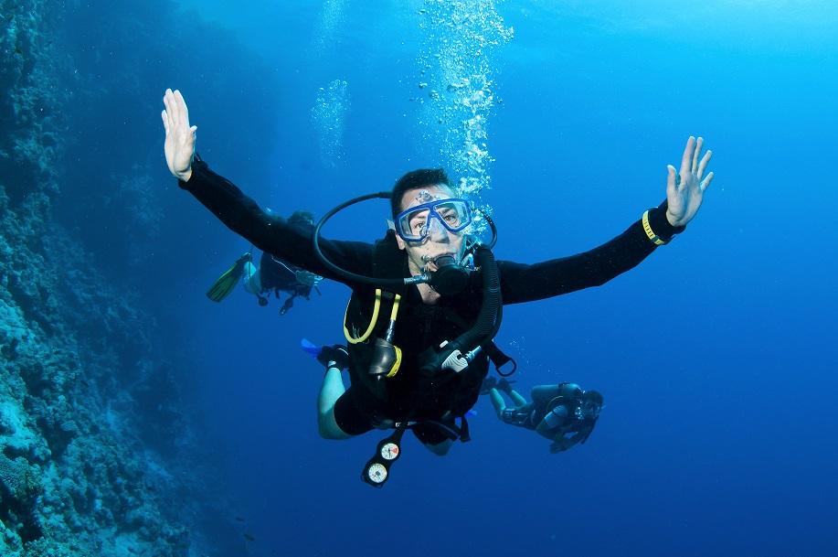 Scuba diving Nerja