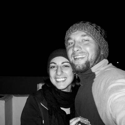 the team at Black Frog Divers in Torrox Costa is composed of a lovely couple Marcin and Sara