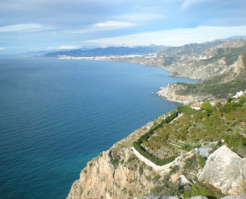 sky picture of the natural reserve of Maro Cerro Gordo